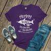 Mommy shark doo not mess with my baby DARK shirt