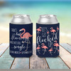 Bachelorette party flamingo let's get flocked up can coolies