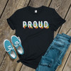 Pride rainbow proud DARK shirt