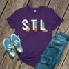STL rainbow pride DARK shirt