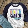 Teacher any grade squad team personalized unisex adult raglan shirt