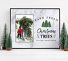 Christmas farm fresh Christmas trees photo frame