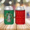 Christmas holidays most wonderful time for a beer can coolie