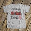 Birthday shirt firetruck any age boy personalized Tshirt