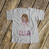 Dance shirt ballerina/dance personalized Tshirt