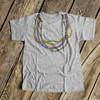 Beaded necklace Mardi Gras bodysuit or Tshirt