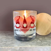 Valentine there's gnomebody like you soy blend wax candle
