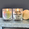 Funny relaxation calming soy blend wax candle