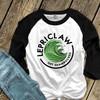 St. Patrick's Day funny lepriclaw get shamrocked adult raglan shirt