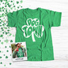 St. Patrick's Day shamrock dogtown saint louis DARK Tshirt