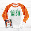 St. Patrick's Day Chicago south side irish adult unisex raglan shirt