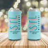 Bachelorette party STL missouri personalized can coolie