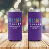 Bachelorette party miami personalized can coolie