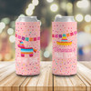 Bachelorette party bride and guests final fiesta can coolies