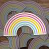 Pride pansexual rainbow vinyl sticker