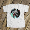 Astronaut guitar player personalized Tshirt