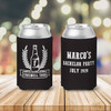 Bachelor party farewell tour personalized can coolies