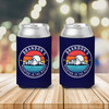 Bachelor party weekend in the woods camping personalized can coolies