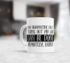 Fun quarantine fact my job can be done remotely coffee mug