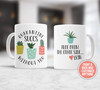 Funny quarantine succs without you personalized coffee mug