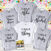 Bachelorette party bring the bling with foil or glitter option unisex or womens v-neck shirt