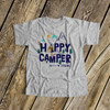Happy camper mountains tepee arrow personalized Tshirt