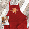 Thanksgiving Day talk turkey to me adult apron