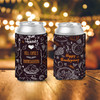 Thanksgiving family give thanks personalized slim or regular size can coolie