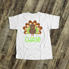 Thanksgiving boy turkey  personalized bodysuit or Tshirt