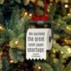 Christmas 2020 survived great toilet paper shortage commemorative ornament