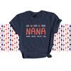 Nana shirt live love spoil Nana personalized DARK Tshirt
