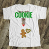 Christmas holiday little cookie in this oven non-maternity or maternity Tshirt