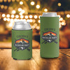 Bachelor party hunting fishing weekend personalized can coolies