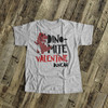 Funny dino-mite Valentine personalized Tshirt