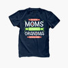 Best moms get promoted to grandma DARK Tshirt