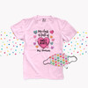 Valentine teacher my class is full of sweethearts shirt with face mask option