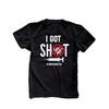 I got shot #vaccinated covid-19 coronavirus unisex adult DARK Tshirt