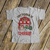 Birthday shirt barn and farm animals boy or girl personalized Tshirt