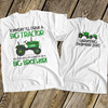 Big brother to be shirt tractor pregnancy announcement Tshirt