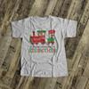 Christmas shirt big brother to be shirt reindeer express pregnancy announcement Tshirt