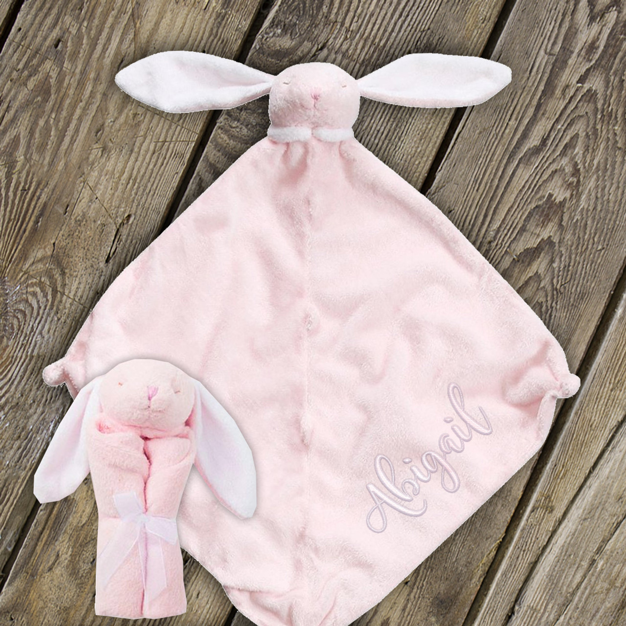 Bunny Blankie Lovie