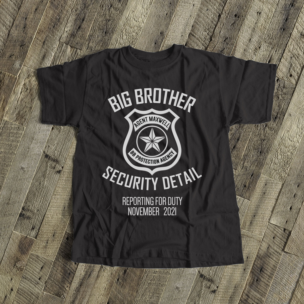Friends T Big Brother Announcement Shirt The One Where T Shirt Brother Tshirt