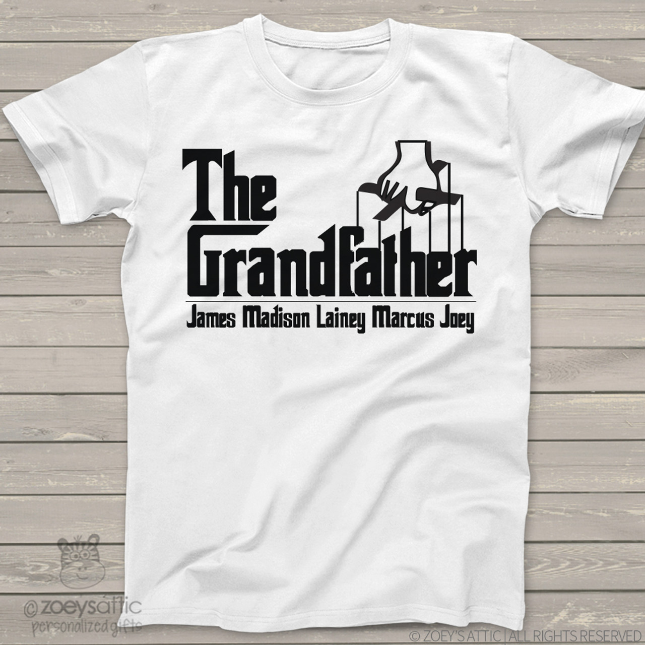 77cf93bb personalized mens shirt, The Grandfather shirt personalized t-shirt