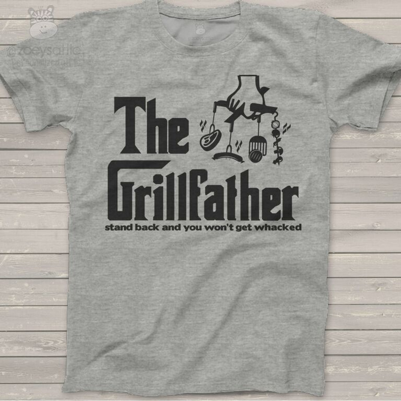 e2eb54e2a12dc The Grillfather custom Tshirt