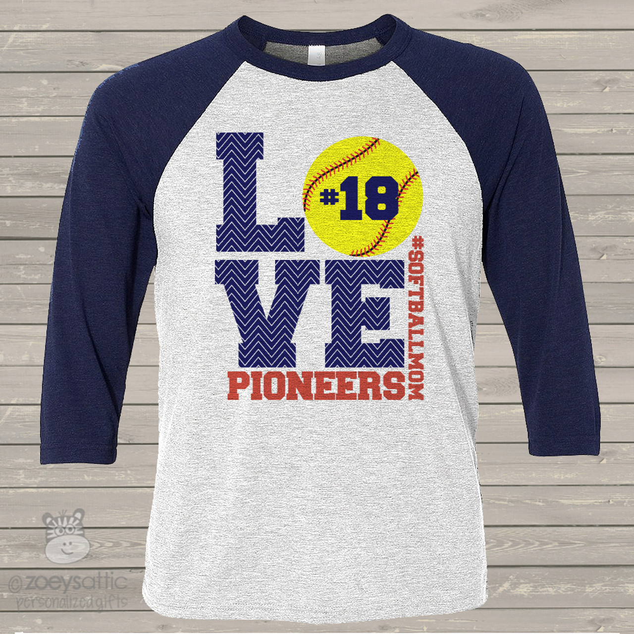 7e15e734 softball shirt, custom softball mom raglan shirt