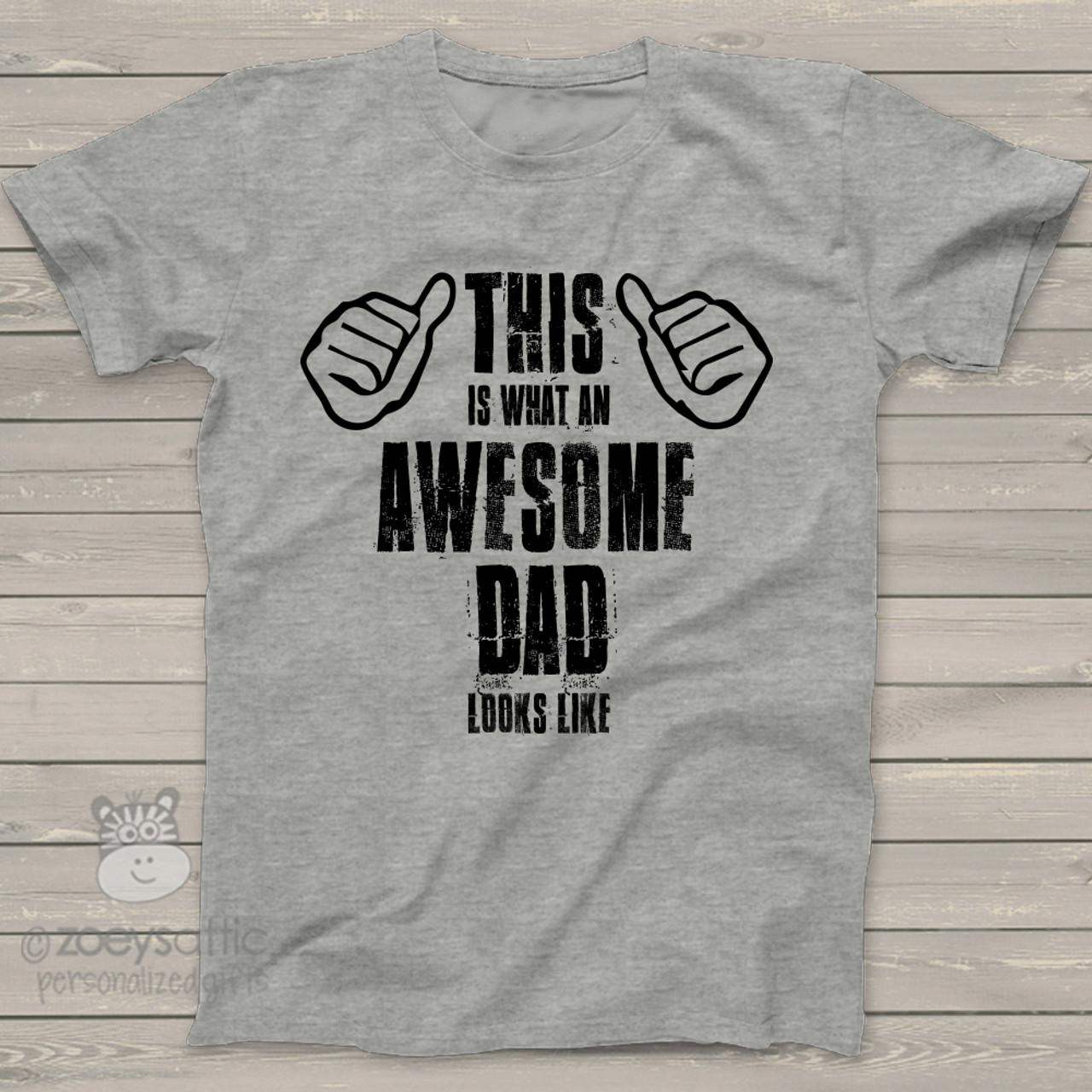 ca486497 fathers day shirt, awesome dad custom tshirt