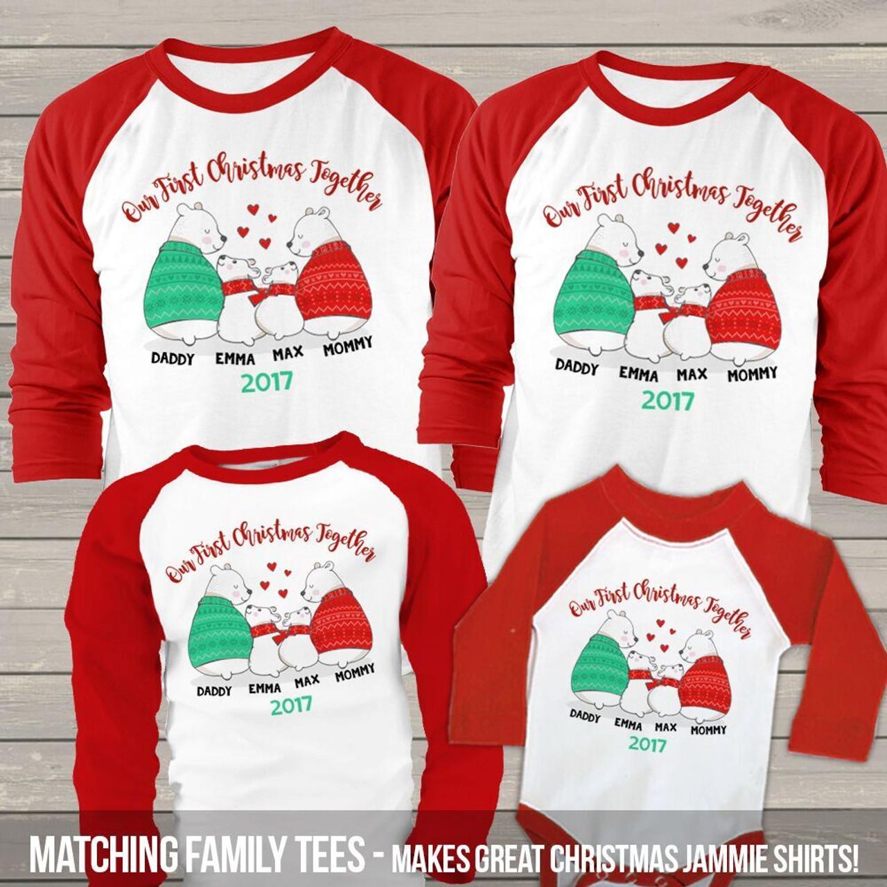 169b6476e4845 christmas raglan shirt set
