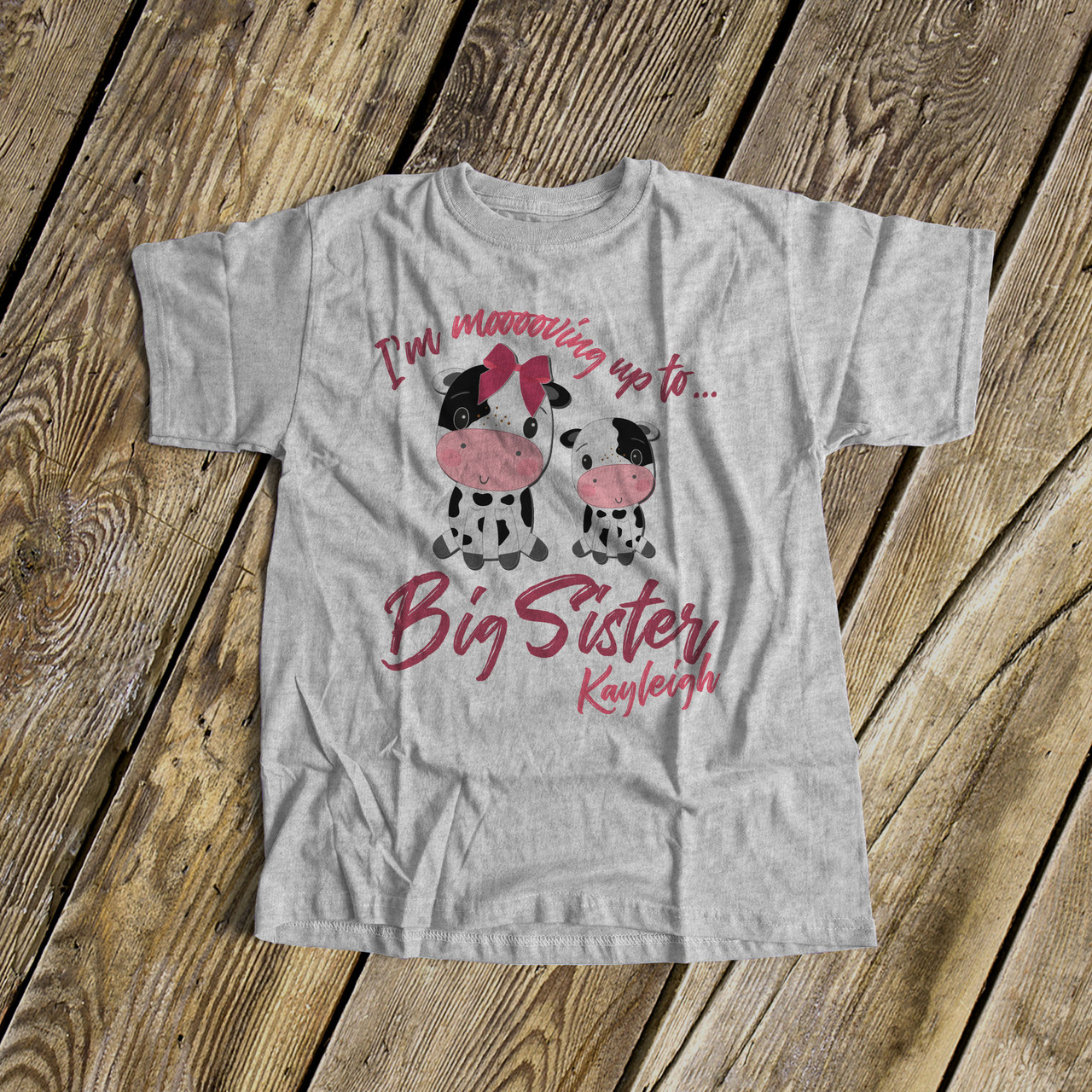 Just Like My Grandpa Toddler//Kids Raglan T-Shirt Im Going to Love Cows When I Grow Up