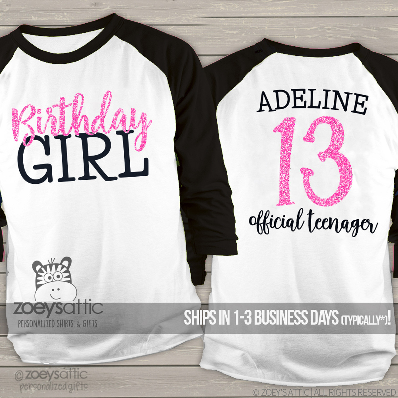 Official Teenager Shirt Gift for Teen 13th Birthday Gift Teenager Birthday Shirt Official Teenager 13 Shirt 13th Birthday Shirt