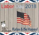 Labor Day 2018 Savings!